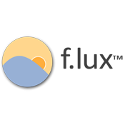 F.lux logo
